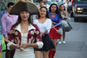 Desfile alegórico ECIU 2017 de la UTL Acámbaro