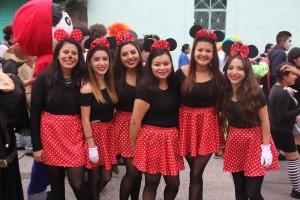 Desfile alegórico de disfraces ECIU 2018