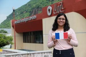 Alumna de UTL Acámbaro en Francia