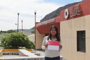 Gana alumna UTL Acámbaro beca para viajar a Singapur
