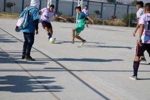 Encuentro deportivo entre CECyTE y UTL Acámbaro