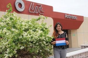 Alumna gana beca para viajar a Holanda