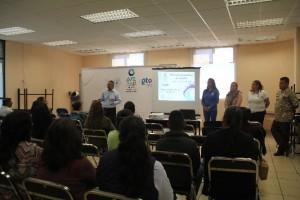 Reunión padres de familia, alumnos de TSU